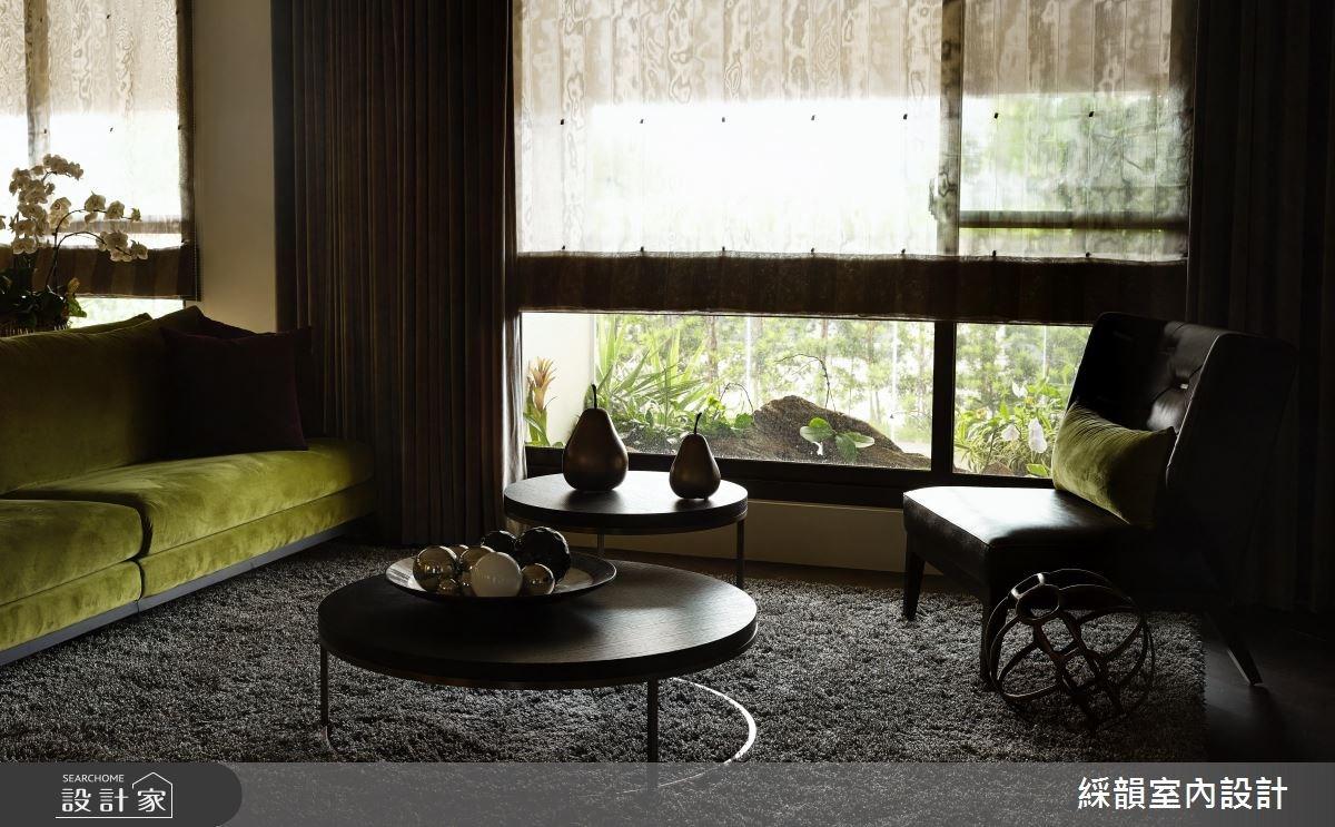 80坪新成屋(5年以下)_混搭風客廳案例圖片_綵韻室內設計有限公司_綵韻_04之8