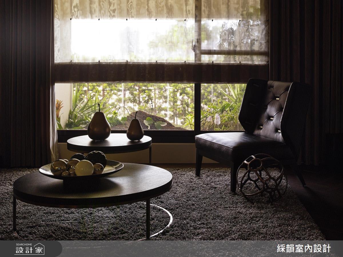 80坪新成屋(5年以下)_混搭風客廳案例圖片_綵韻室內設計有限公司_綵韻_04之9