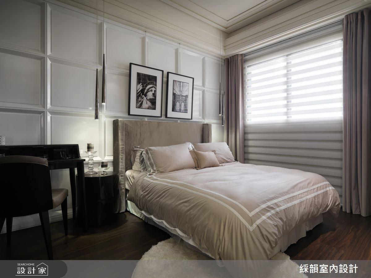 80坪新成屋(5年以下)_混搭風臥室案例圖片_綵韻室內設計有限公司_綵韻_04之11