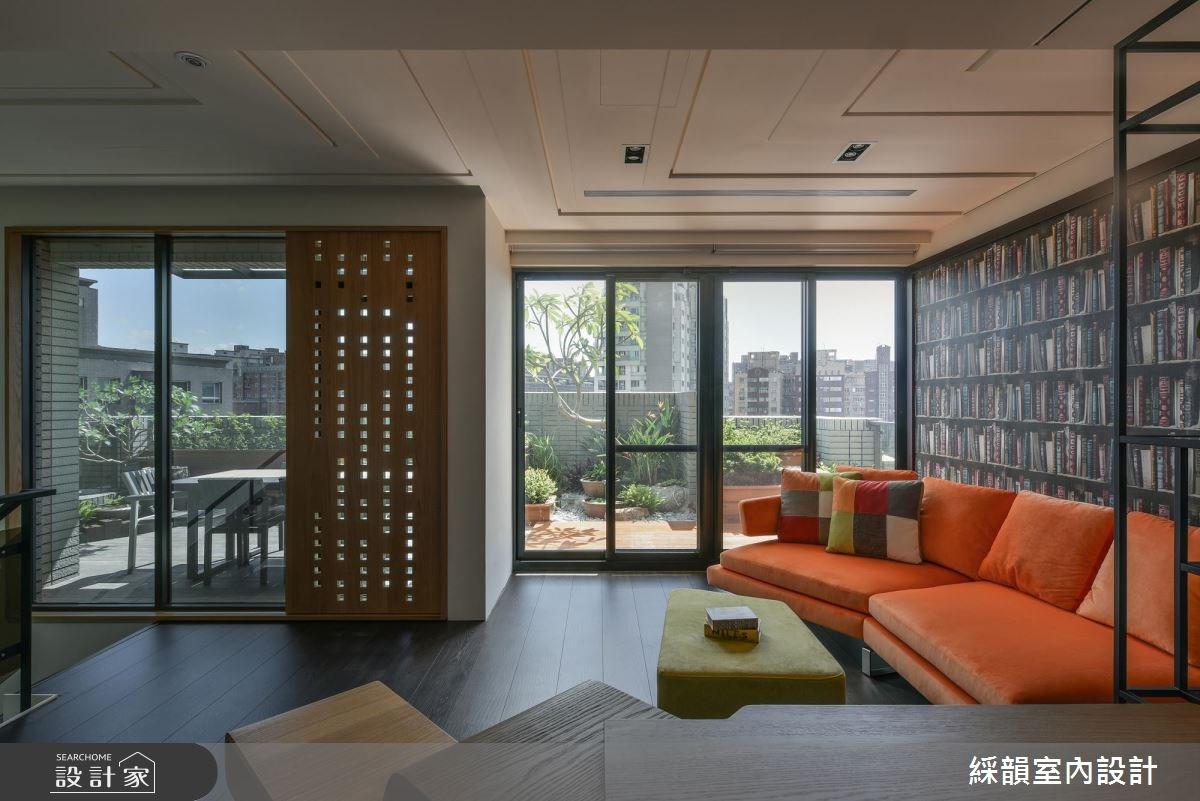 150坪新成屋(5年以下)_現代風書房案例圖片_綵韻室內設計有限公司_綵韻_08之22