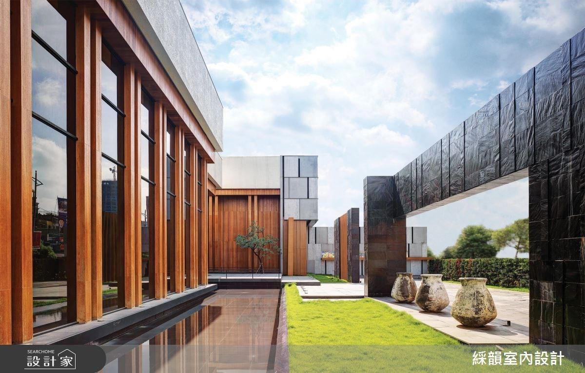 _新中式風商業空間案例圖片_綵韻室內設計有限公司_綵韻_16之2