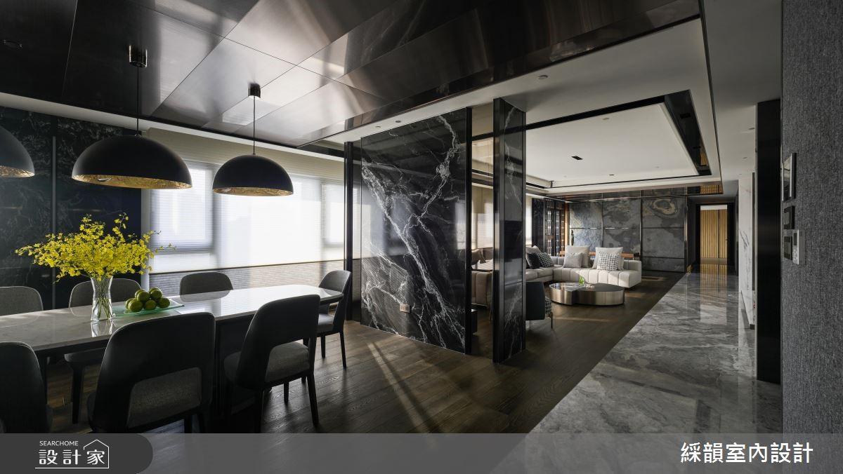 135坪新成屋(5年以下)_奢華風餐廳案例圖片_綵韻室內設計有限公司_綵韻_21之4