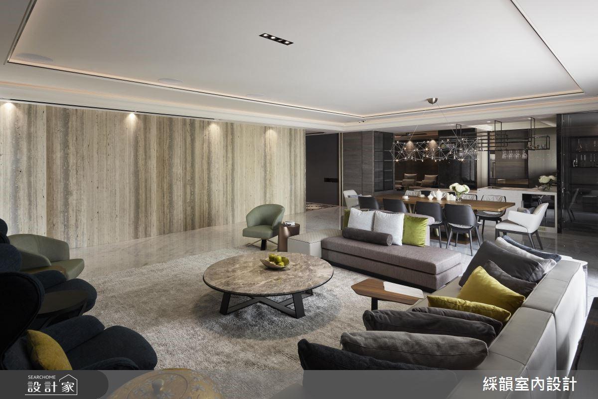 160坪新成屋(5年以下)_現代風客廳案例圖片_綵韻室內設計有限公司_綵韻_22之2