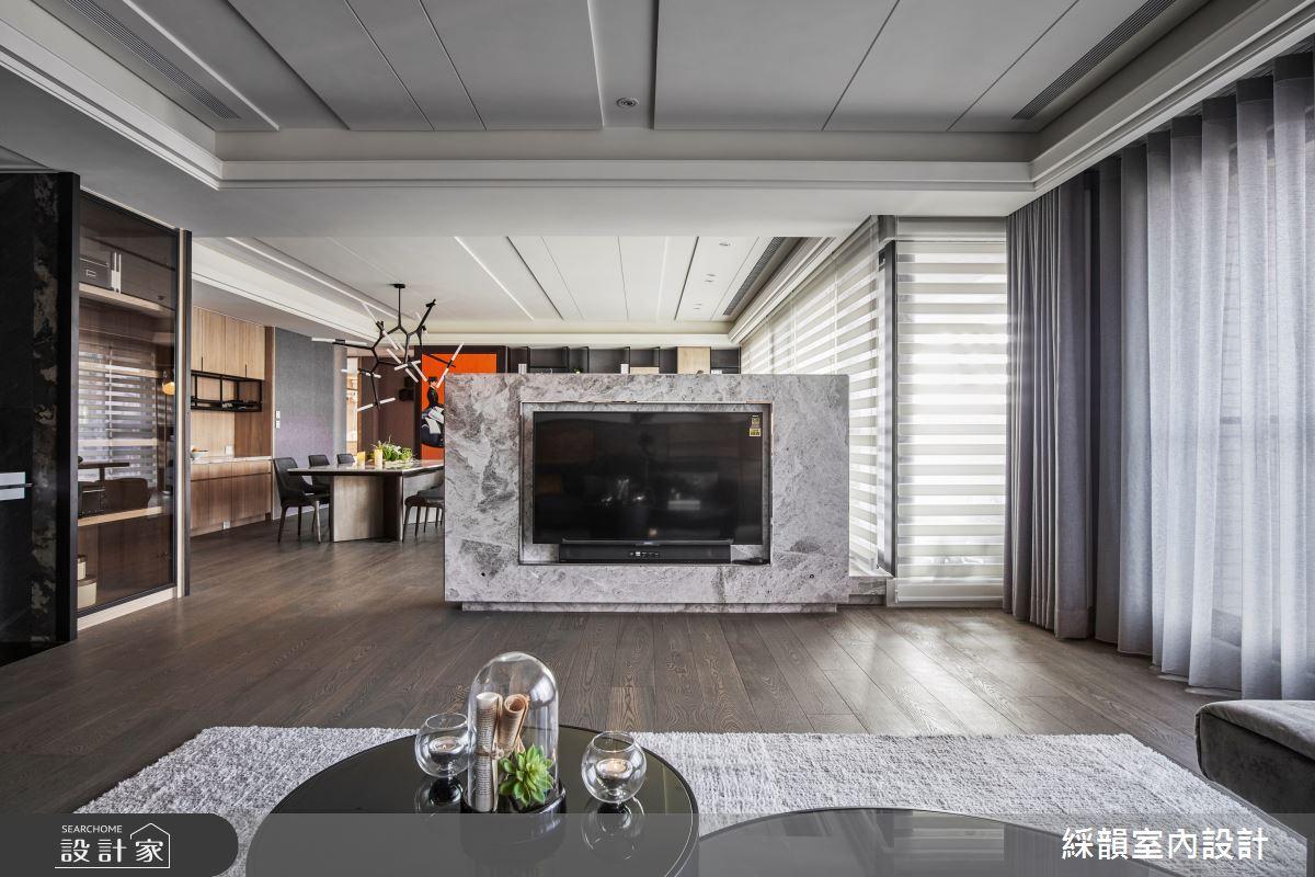 110坪新成屋(5年以下)_現代風客廳案例圖片_綵韻室內設計有限公司_綵韻_27之3