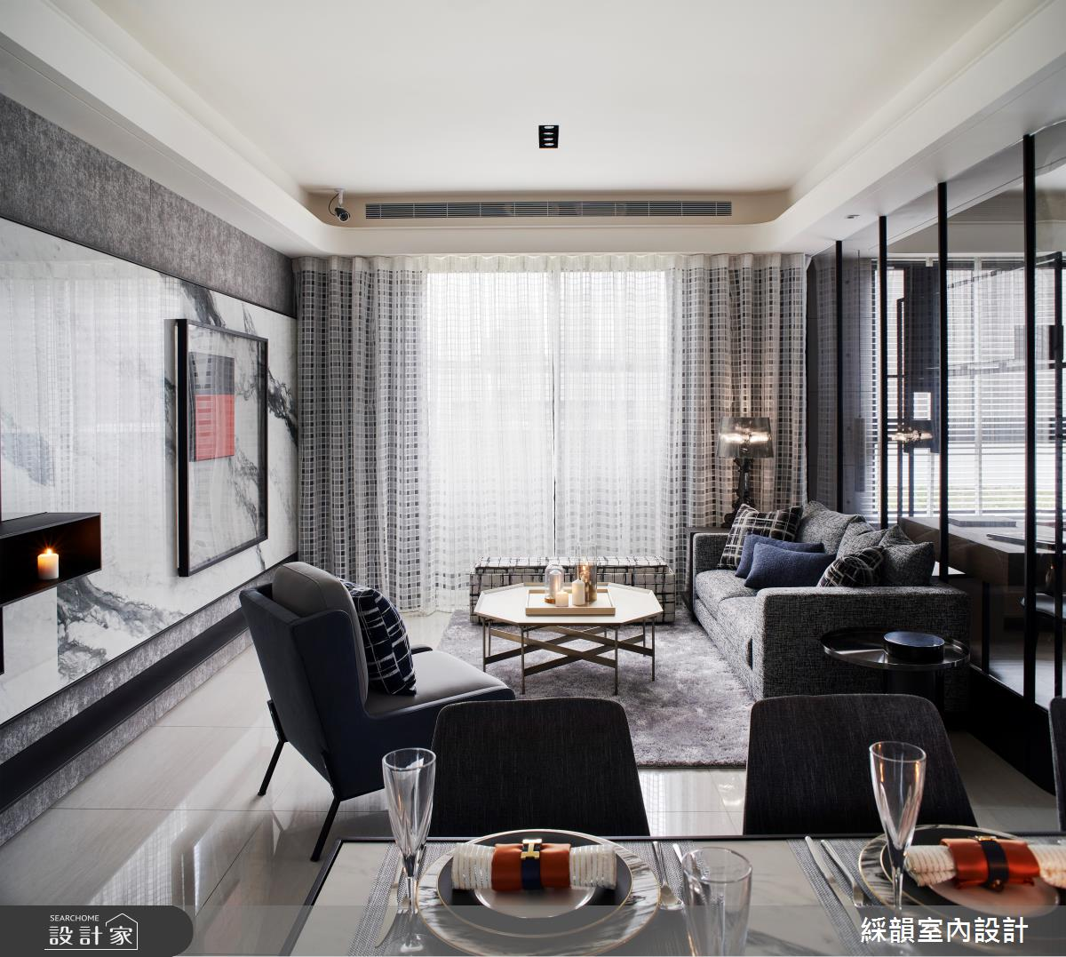 45坪預售屋_現代風案例圖片_綵韻室內設計有限公司_綵韻_39之4