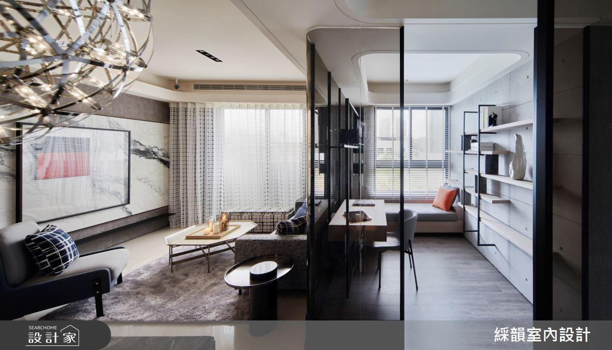 45坪預售屋_現代風案例圖片_綵韻室內設計有限公司_綵韻_39之12