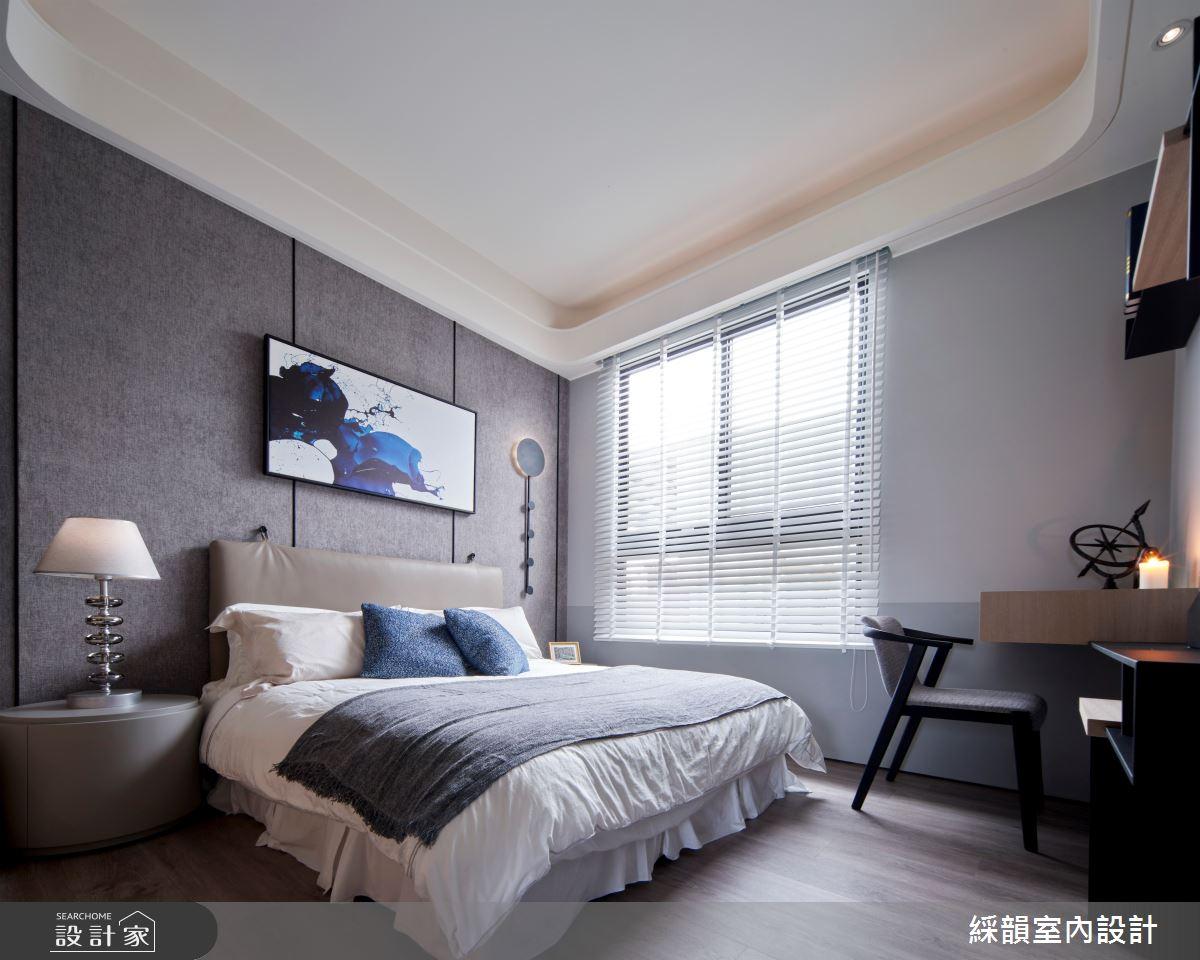 45坪預售屋_現代風臥室案例圖片_綵韻室內設計有限公司_綵韻_39之17