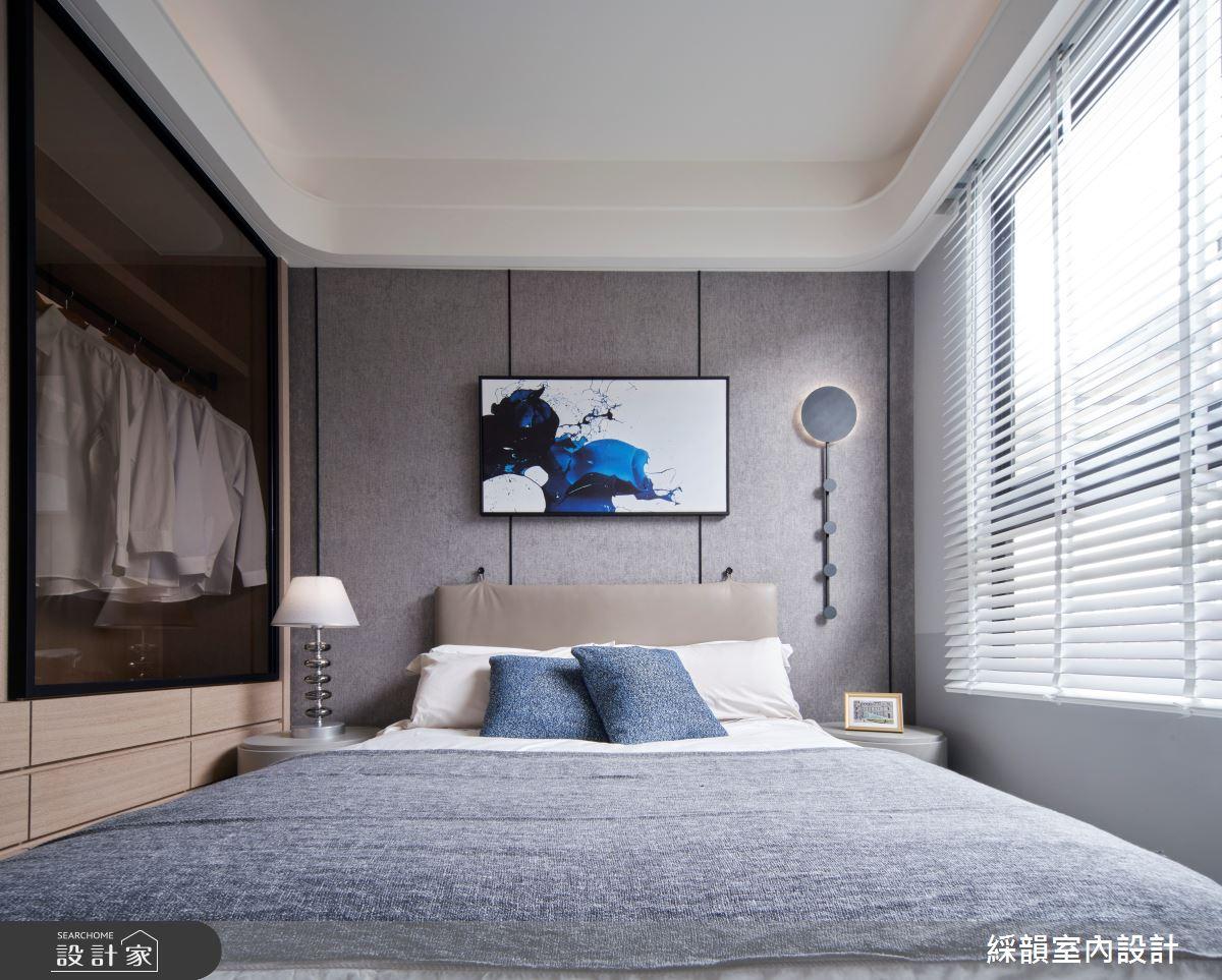 45坪預售屋_現代風臥室案例圖片_綵韻室內設計有限公司_綵韻_39之18