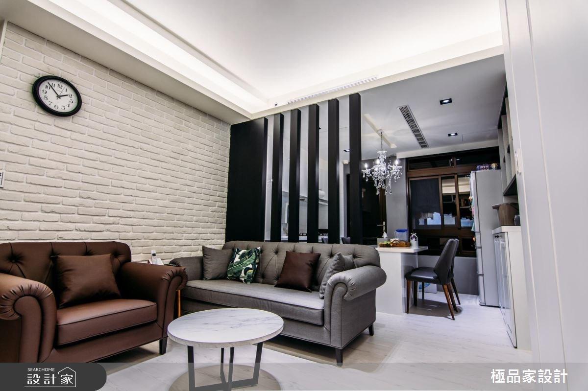 15坪中古屋(5~15年)_新古典客廳餐廳案例圖片_極品家設計_極品家_04之3