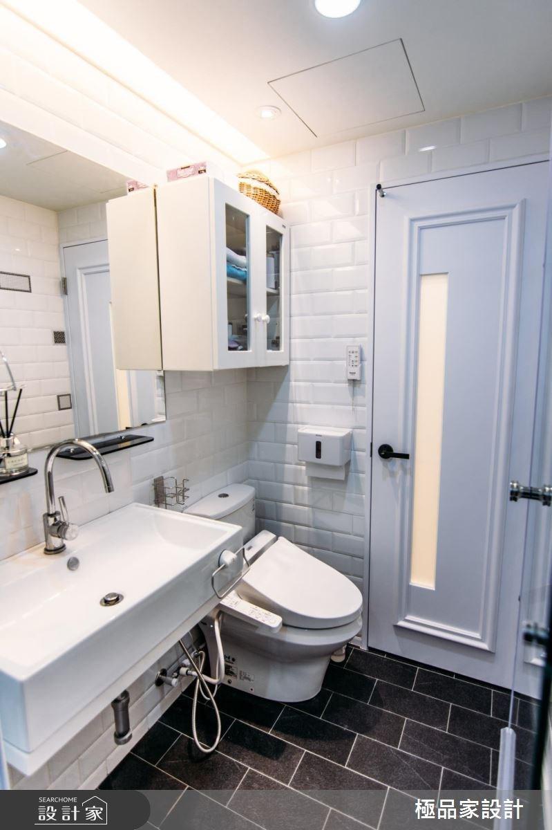 15坪中古屋(5~15年)_新古典浴室案例圖片_極品家設計_極品家_04之13