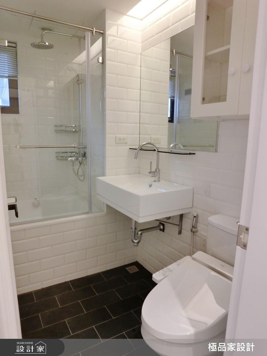 15坪中古屋(5~15年)_新古典浴室案例圖片_極品家設計_極品家_04之14