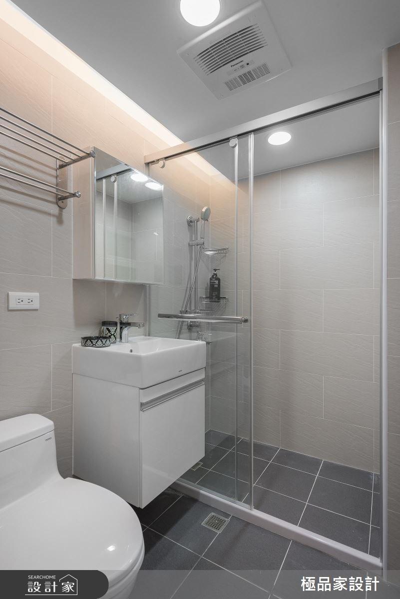 25坪老屋(16~30年)_混搭風浴室案例圖片_極品家設計_極品家_12之13