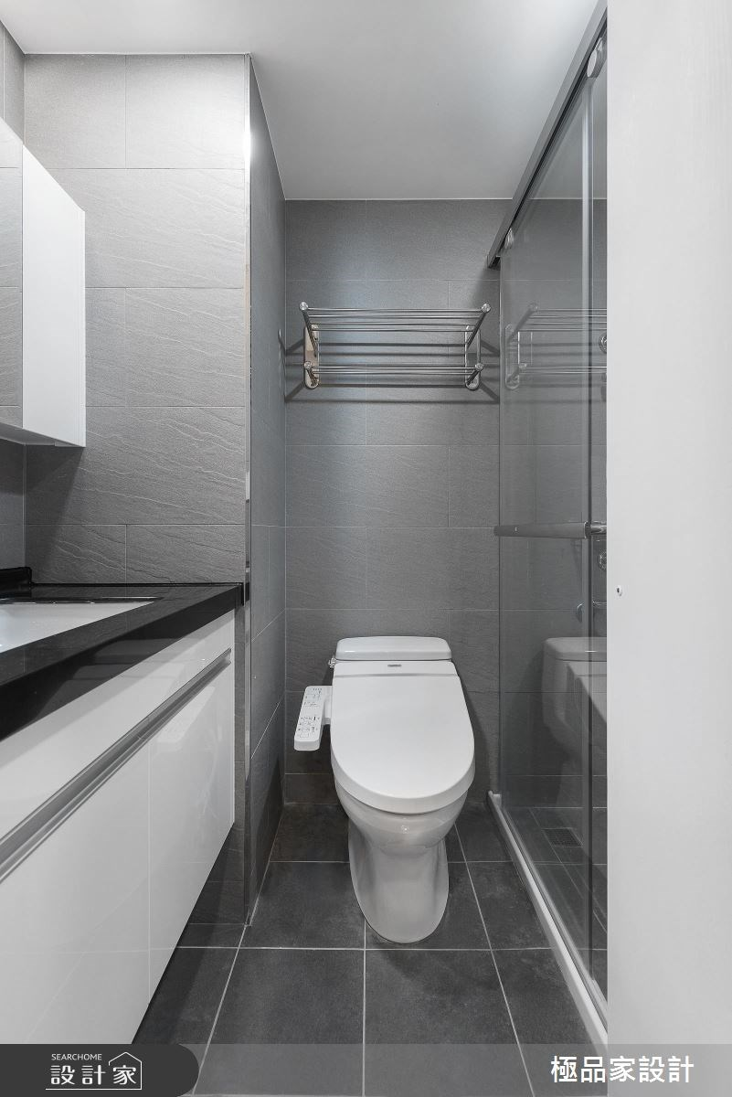 25坪老屋(16~30年)_混搭風浴室案例圖片_極品家設計_極品家_12之14