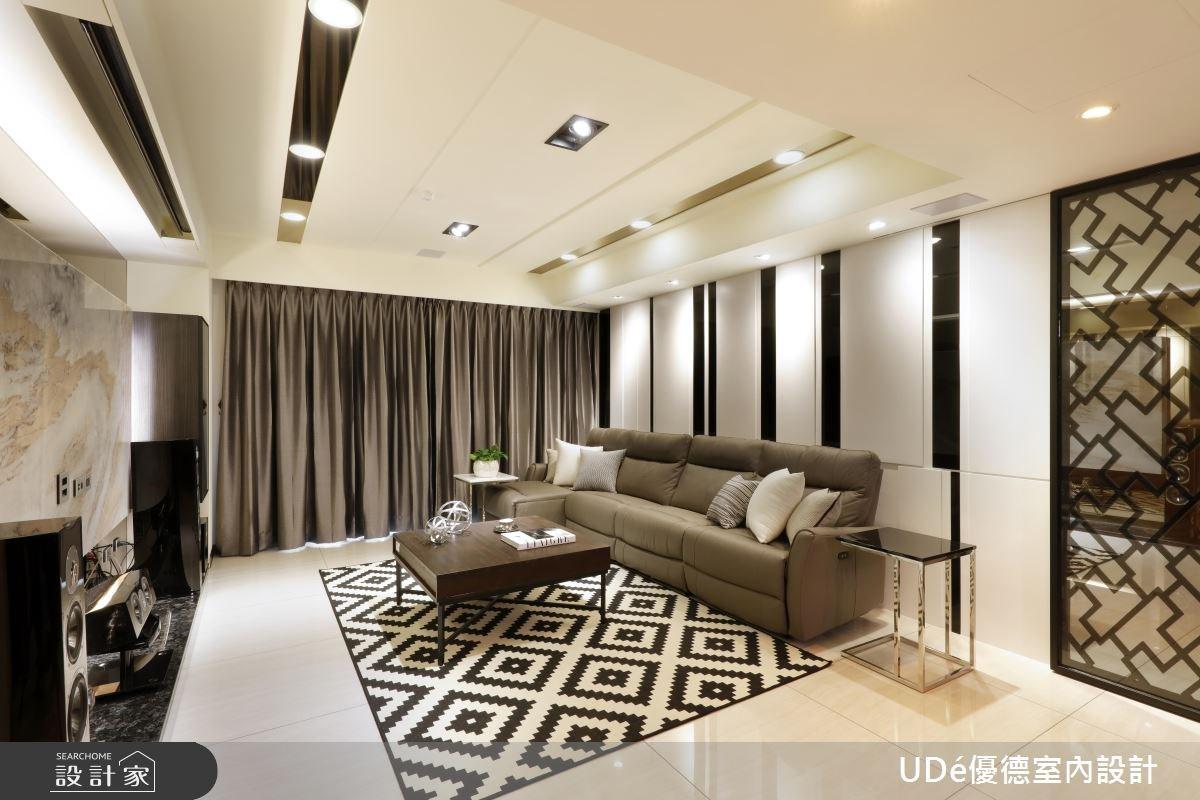 60坪新成屋(5年以下)_混搭風客廳案例圖片_優德室內設計_優德_01之2