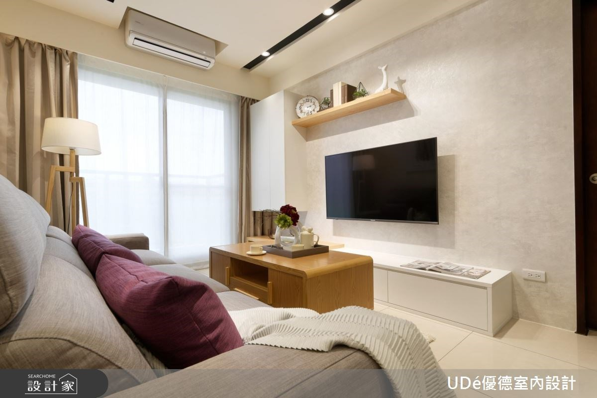 20坪新成屋(5年以下)_北歐風客廳案例圖片_優德室內設計_優德_02之2
