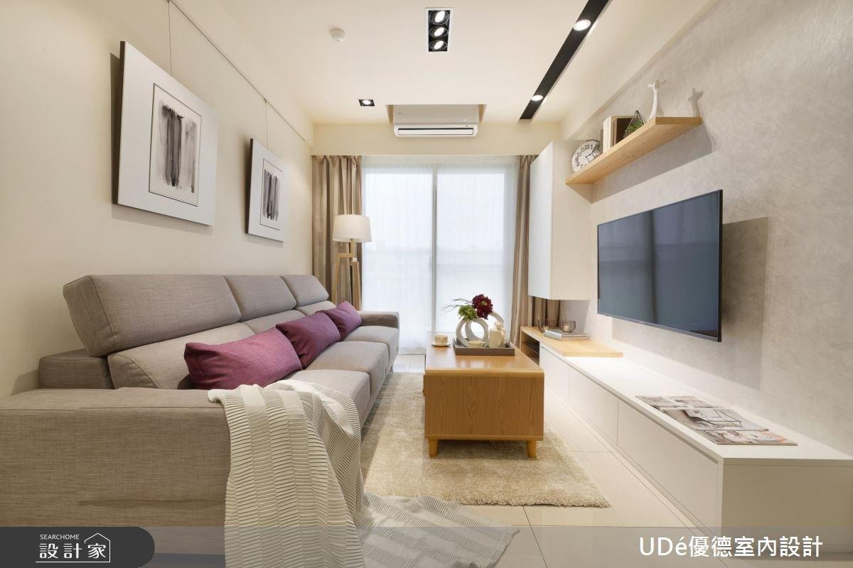 20坪新成屋(5年以下)_北歐風客廳案例圖片_優德室內設計_優德_02之4