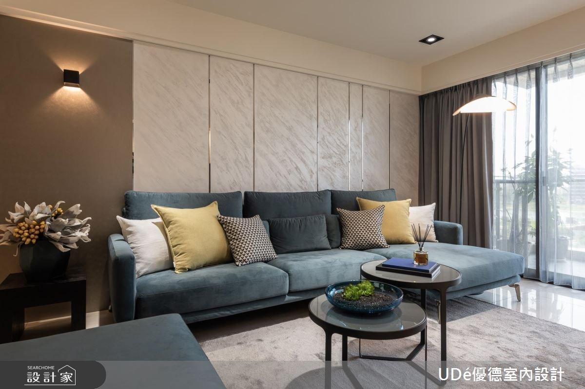 35坪新成屋(5年以下)_混搭風客廳案例圖片_優德室內設計_優德_07之3