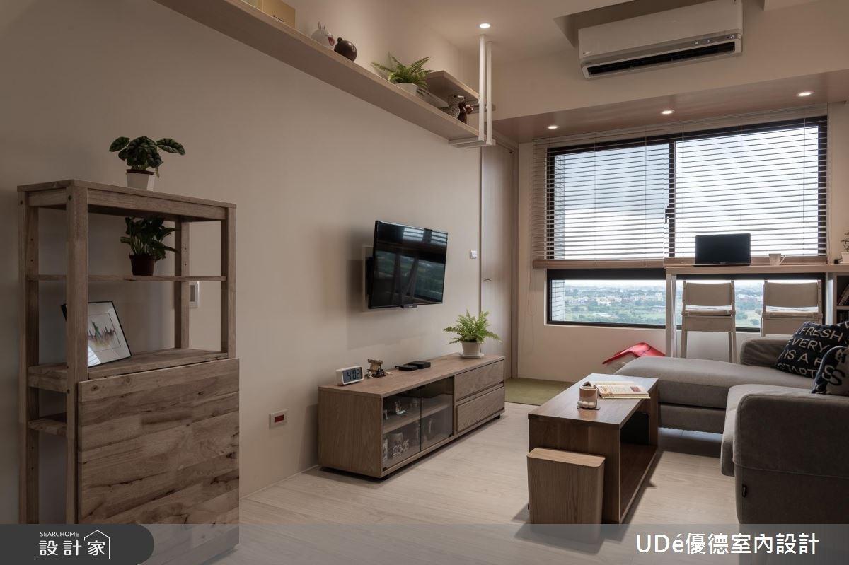 20坪新成屋(5年以下)_北歐風客廳案例圖片_優德室內設計_優德_08之4