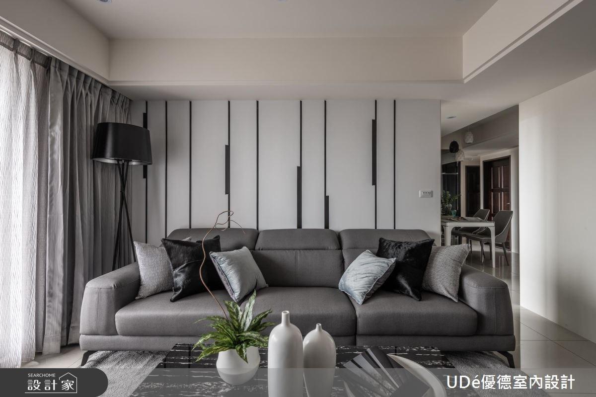 30坪新成屋(5年以下)_現代風客廳案例圖片_優德室內設計_優德_10之4