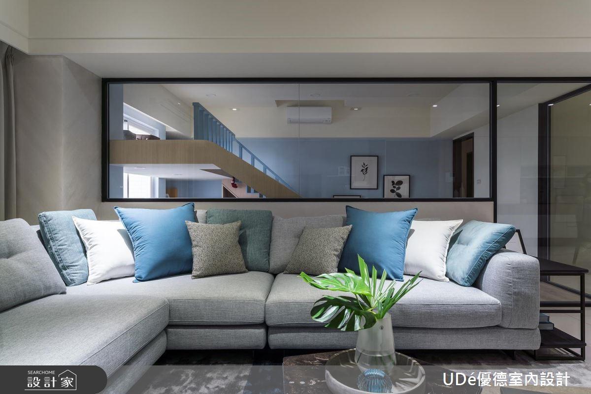 45坪中古屋(5~15年)_混搭風客廳案例圖片_優德室內設計_優德_13之3