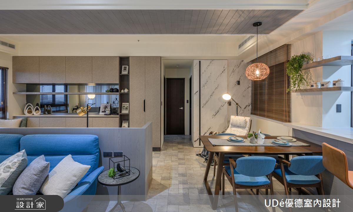 23坪新成屋(5年以下)_混搭風客廳餐廳案例圖片_優德室內設計_優德_19之7