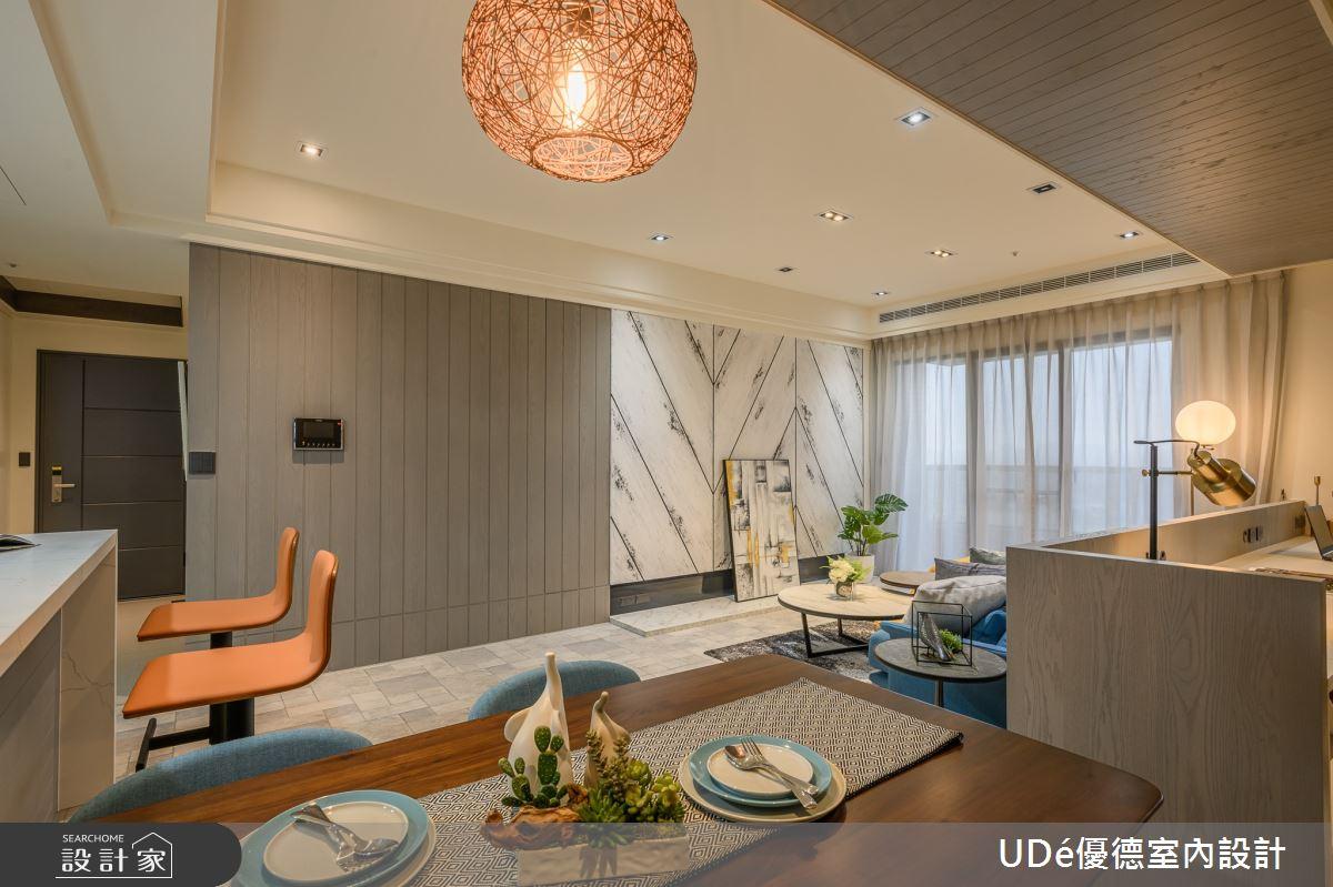23坪新成屋(5年以下)_混搭風餐廳案例圖片_優德室內設計_優德_19之2