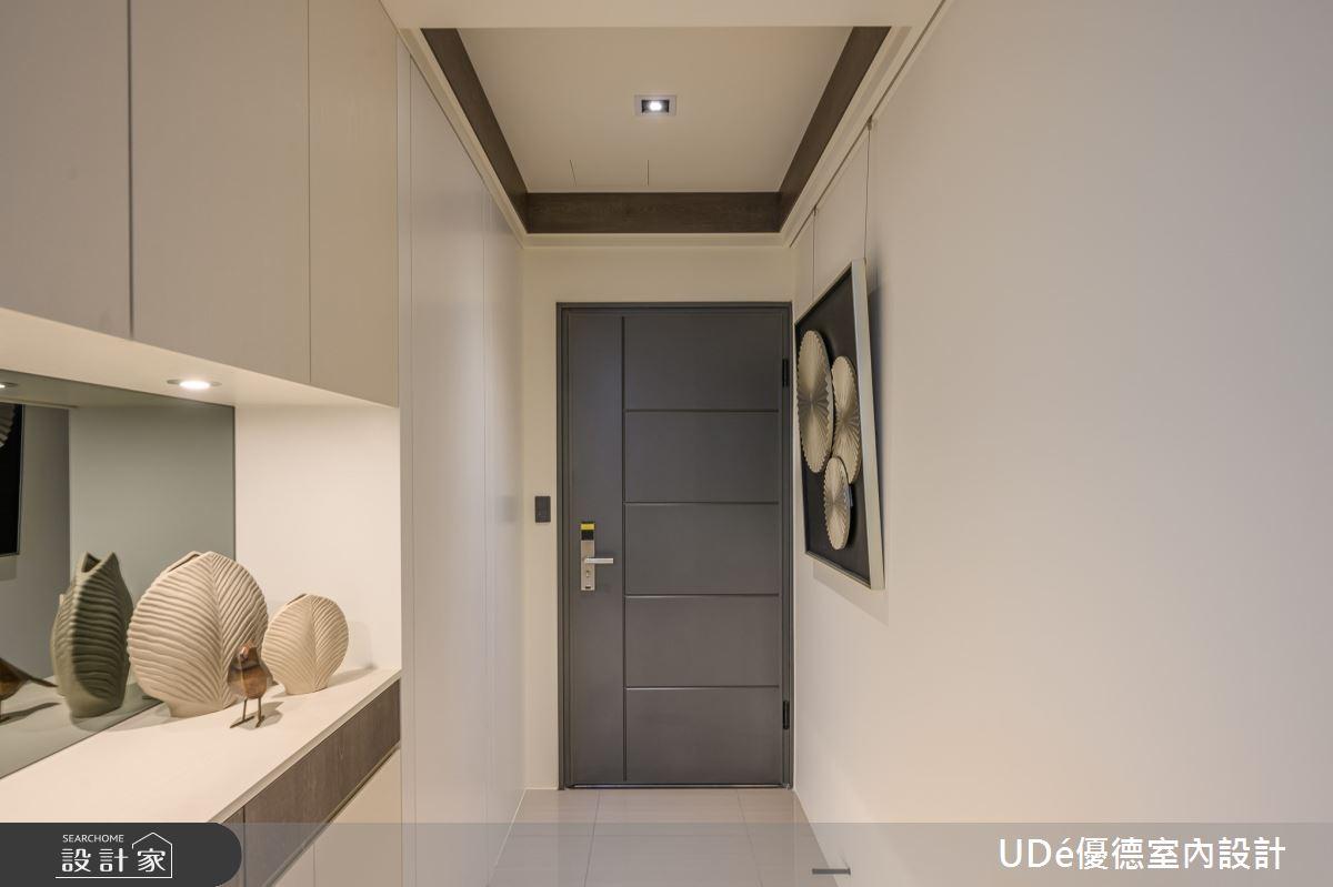 23坪新成屋(5年以下)_混搭風玄關案例圖片_優德室內設計_優德_19之1