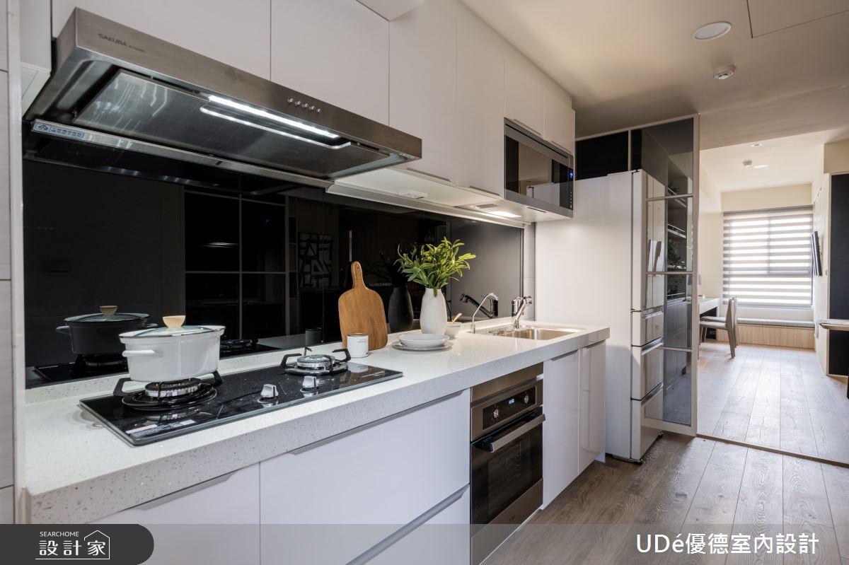 26坪新成屋(5年以下)_混搭風廚房案例圖片_優德室內設計_優德_20之12