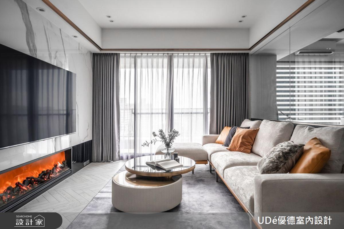 45坪中古屋(5~15年)_混搭風客廳案例圖片_優德室內設計_優德_22之4