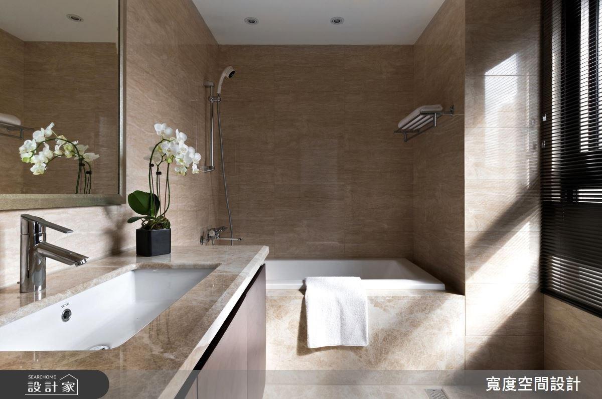 38坪新成屋(5年以下)_簡約風浴室案例圖片_寬度空間設計_寬度_01之17
