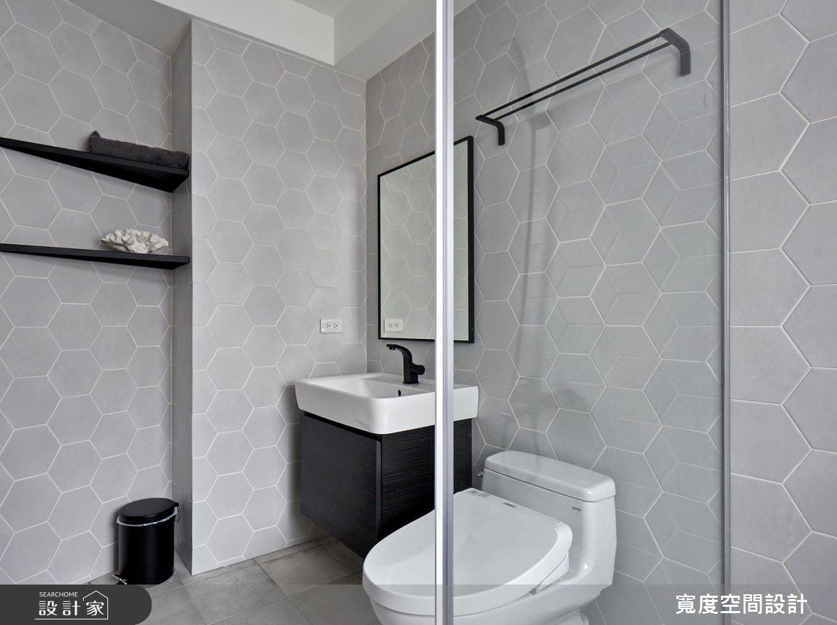 32坪新成屋(5年以下)_工業風浴室案例圖片_寬度空間設計_寬度_02之25