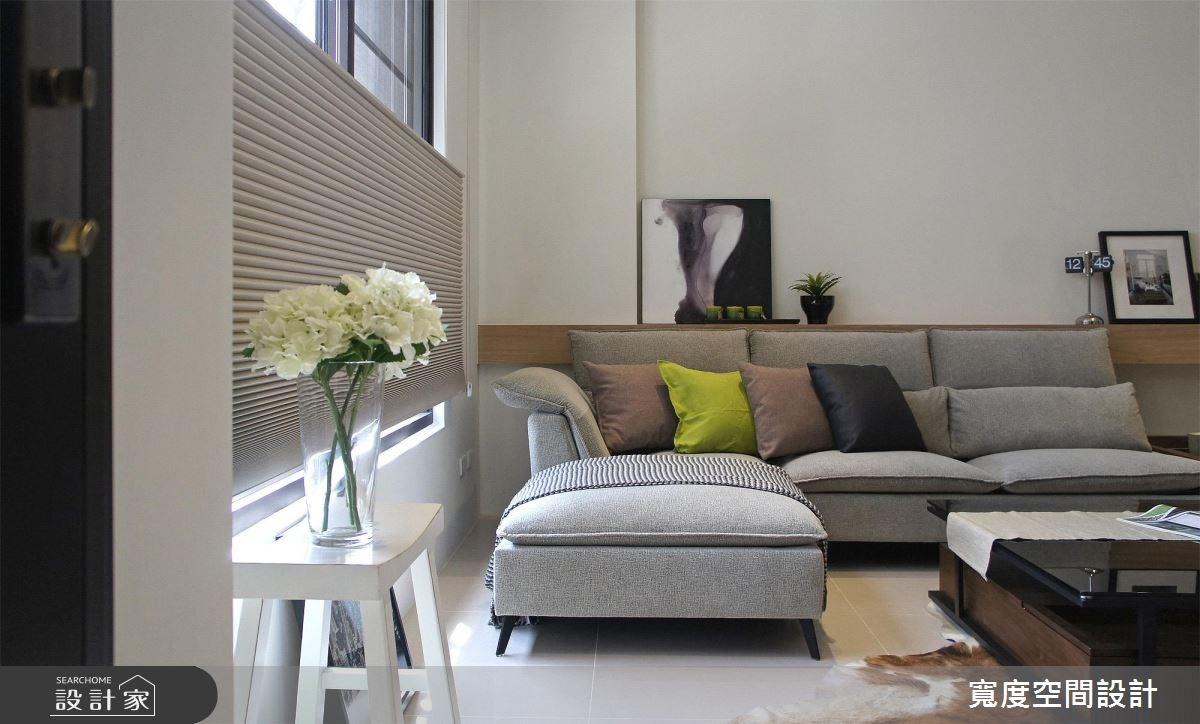 70坪新成屋(5年以下)_奢華風客廳案例圖片_寬度空間設計_寬度_04之1
