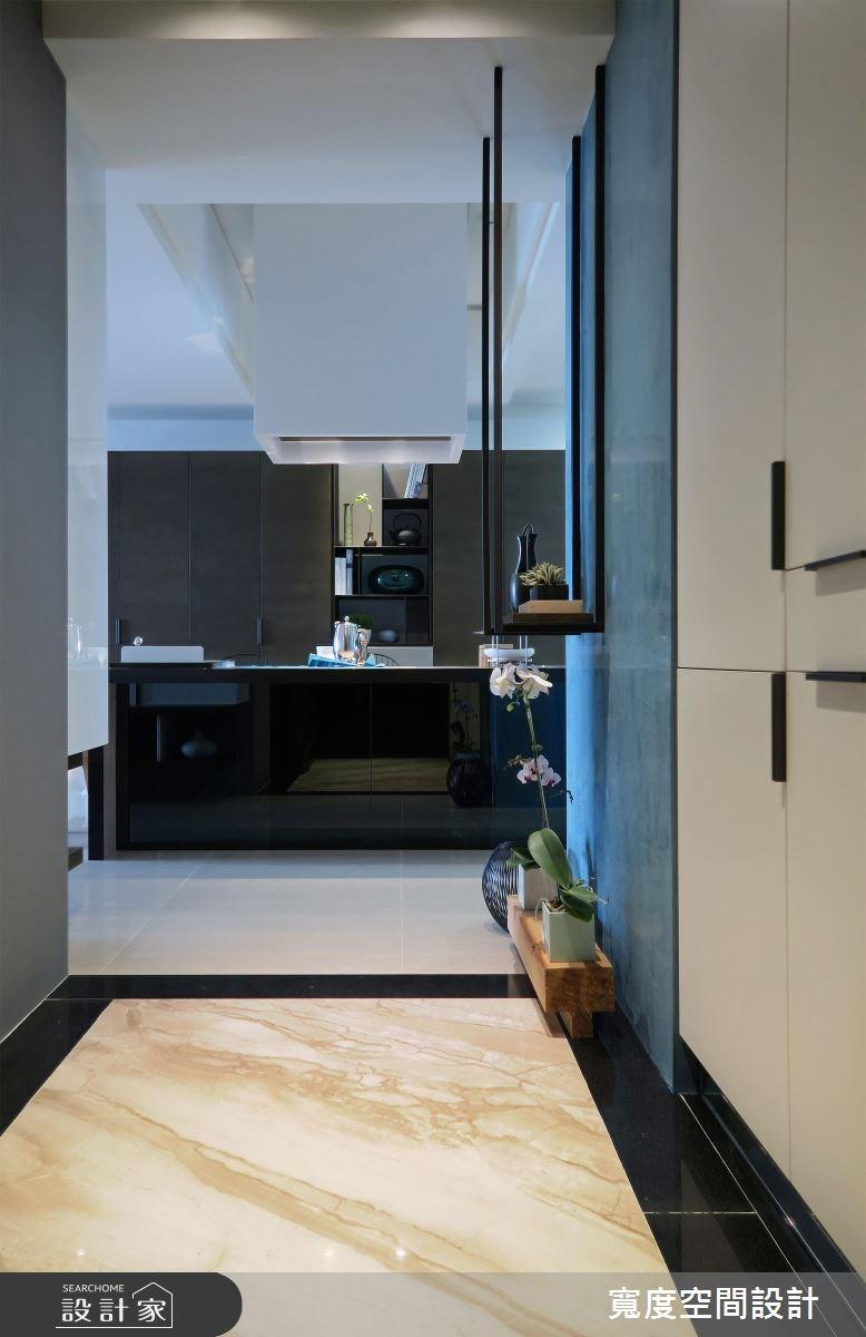 30坪新成屋(5年以下)_混搭風玄關餐廳廚房案例圖片_寬度空間設計_寬度_05之2