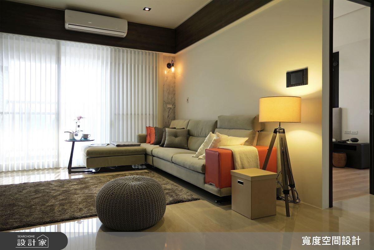 30坪新成屋(5年以下)_混搭風客廳案例圖片_寬度空間設計_寬度_05之10