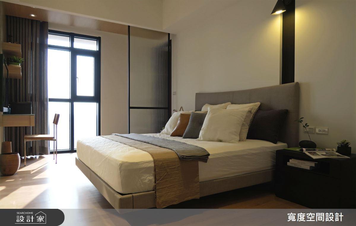 30坪新成屋(5年以下)_混搭風臥室案例圖片_寬度空間設計_寬度_05之12