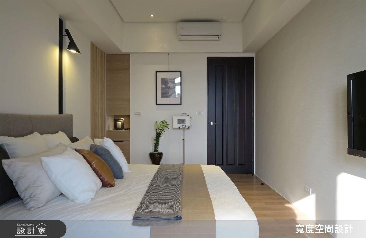30坪新成屋(5年以下)_混搭風臥室案例圖片_寬度空間設計_寬度_05之13