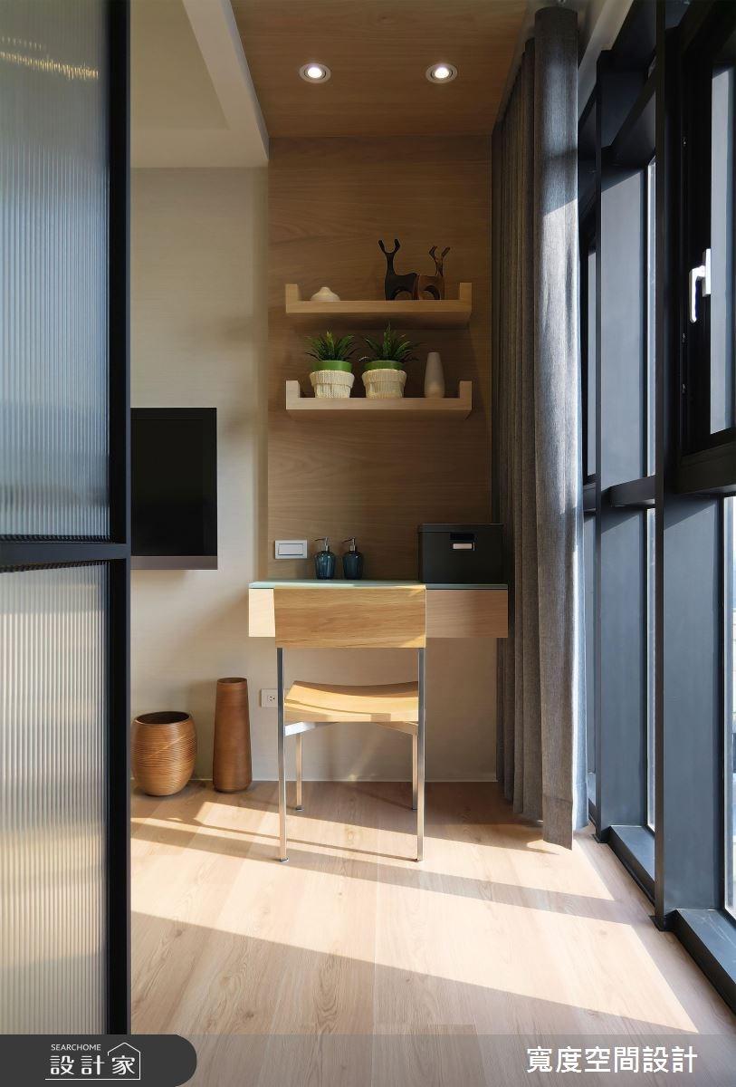 30坪新成屋(5年以下)_混搭風臥室案例圖片_寬度空間設計_寬度_05之14