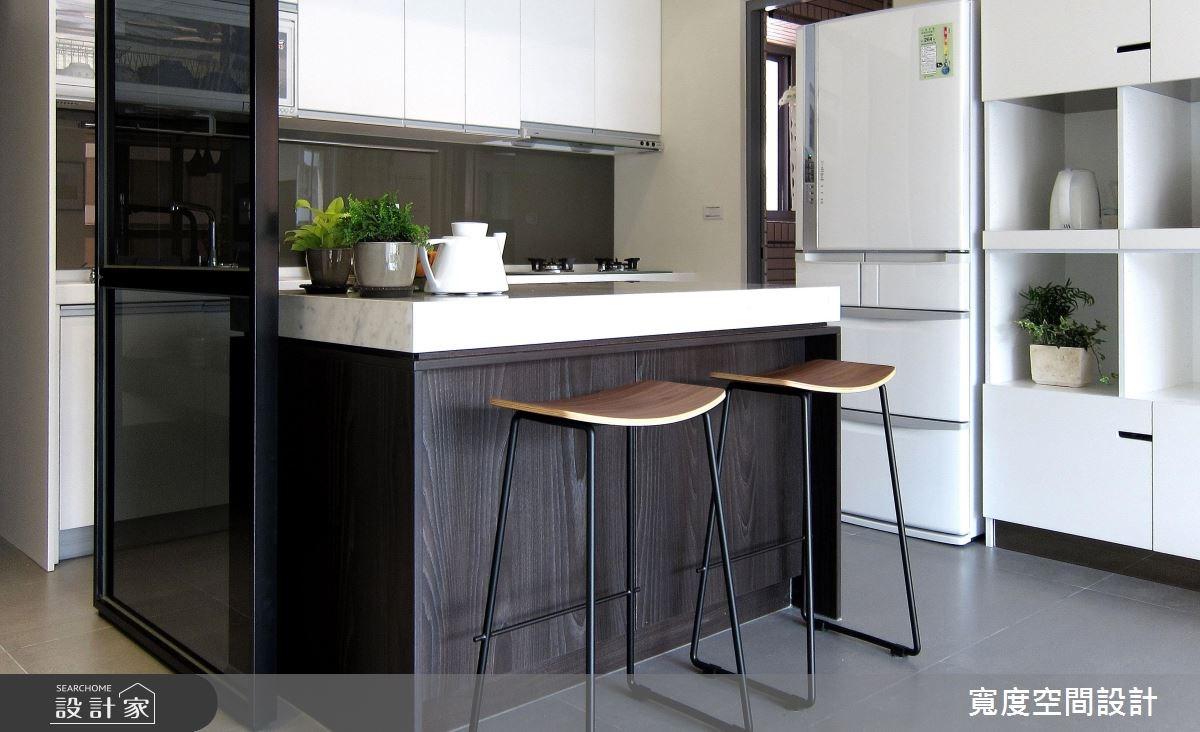 32坪新成屋(5年以下)_北歐風餐廳廚房案例圖片_寬度空間設計_寬度_06之2