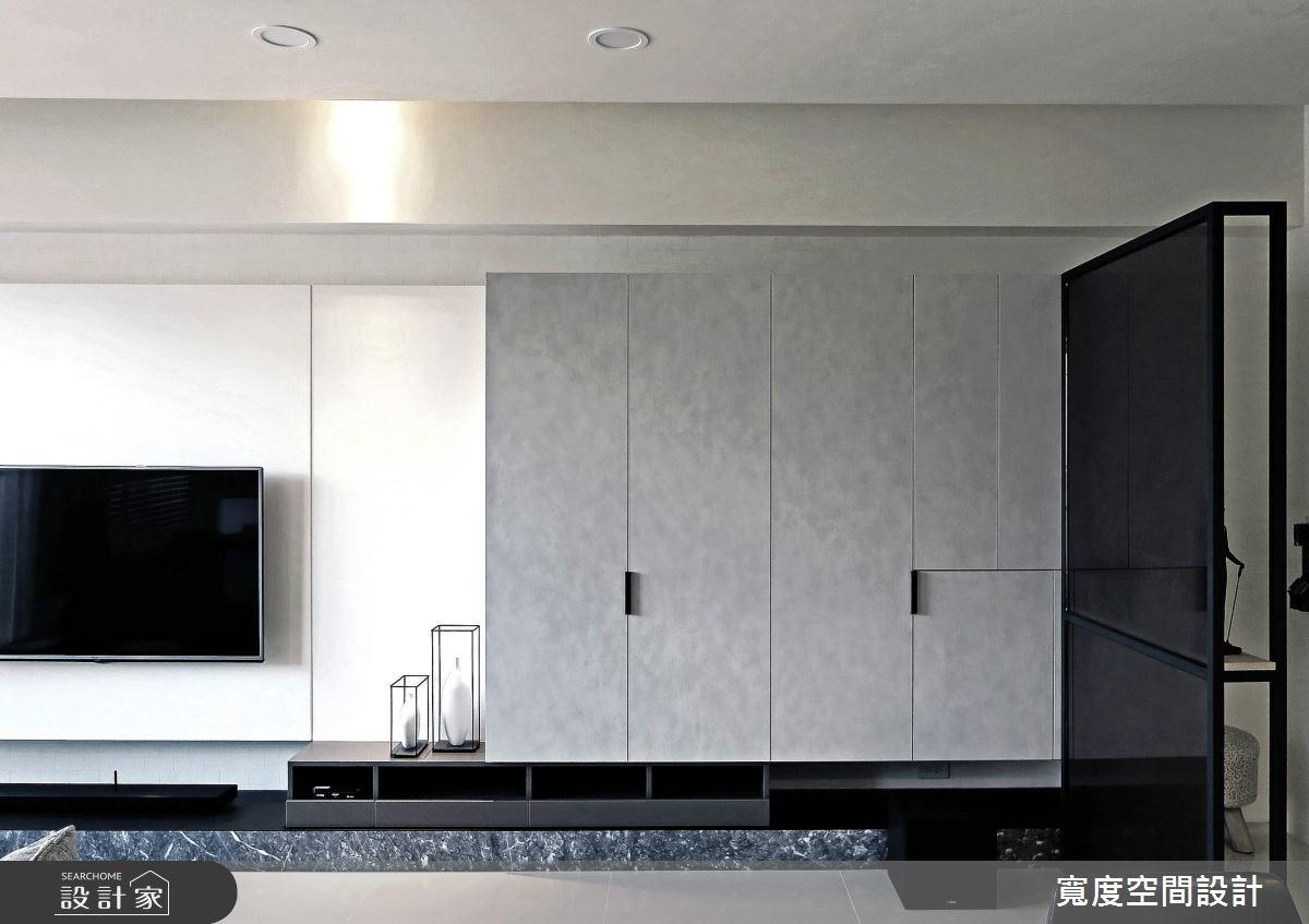25坪新成屋(5年以下)_簡約風客廳案例圖片_寬度空間設計_寬度_08之2