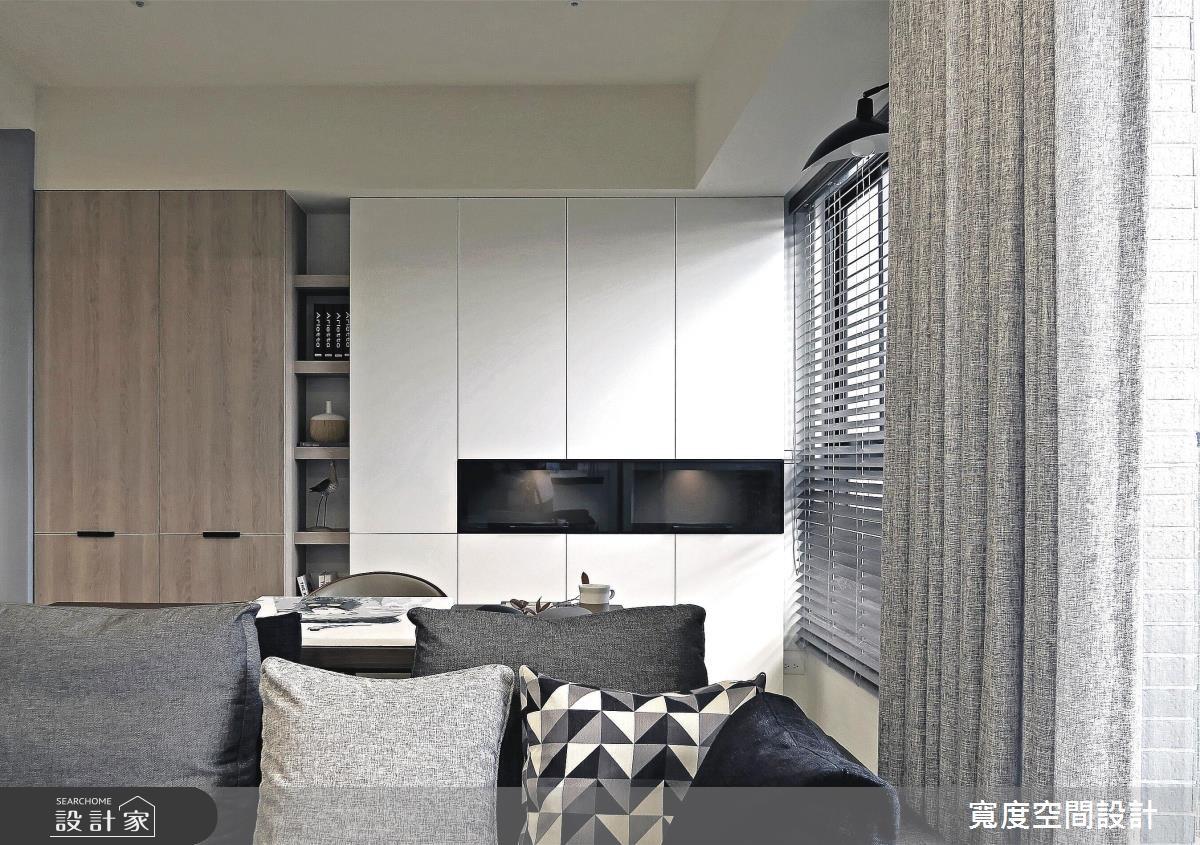 25坪新成屋(5年以下)_簡約風客廳案例圖片_寬度空間設計_寬度_08之7