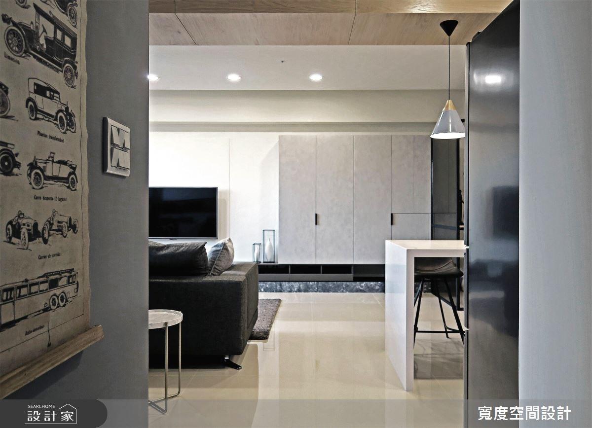 25坪新成屋(5年以下)_簡約風客廳餐廳案例圖片_寬度空間設計_寬度_08之12