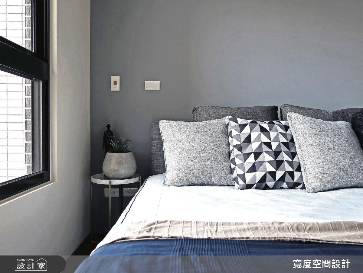 25坪新成屋(5年以下)_簡約風臥室案例圖片_寬度空間設計_寬度_08之13