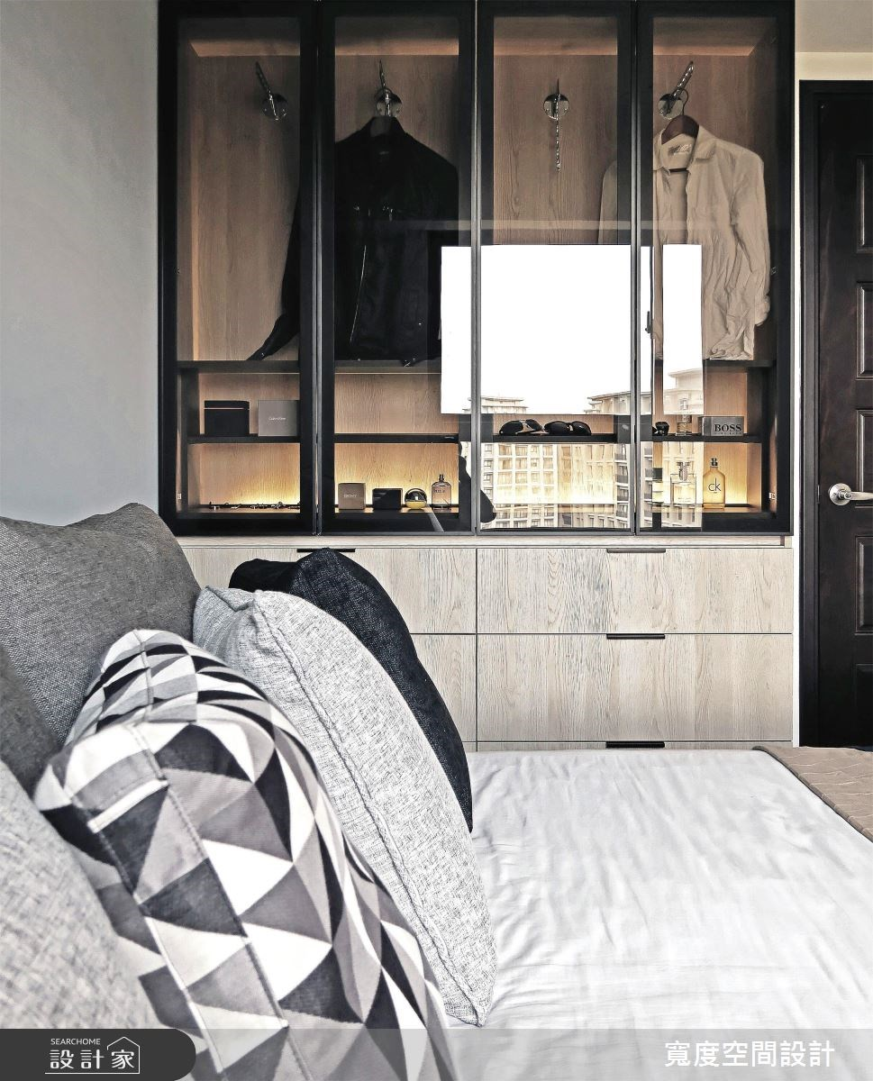25坪新成屋(5年以下)_簡約風臥室案例圖片_寬度空間設計_寬度_08之15