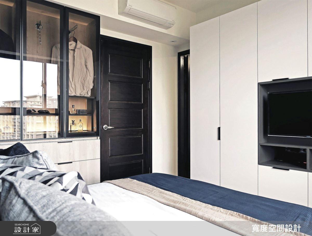 25坪新成屋(5年以下)_簡約風臥室案例圖片_寬度空間設計_寬度_08之16