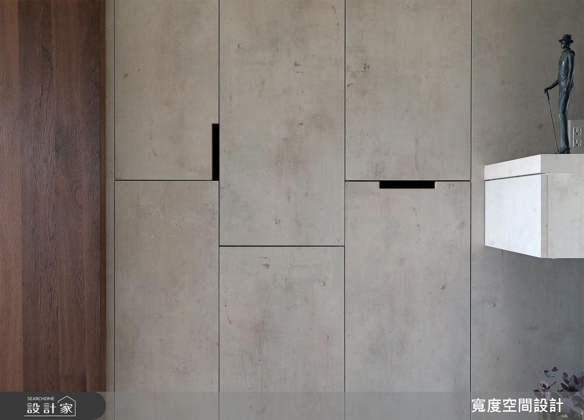 30坪新成屋(5年以下)_休閒風玄關案例圖片_寬度空間設計_寬度_09之1