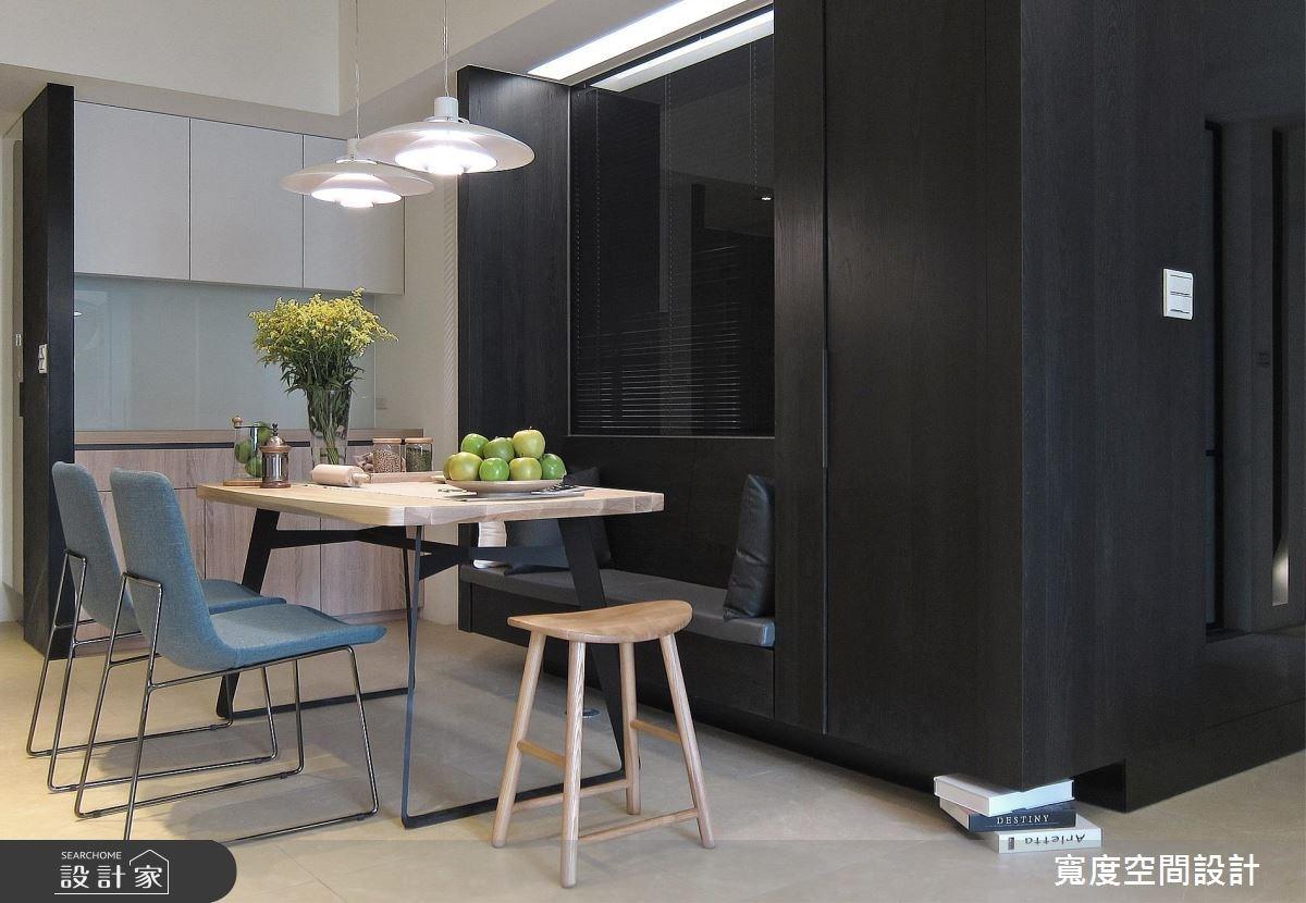 33坪新成屋(5年以下)_現代風餐廳案例圖片_寬度空間設計_寬度_10之3