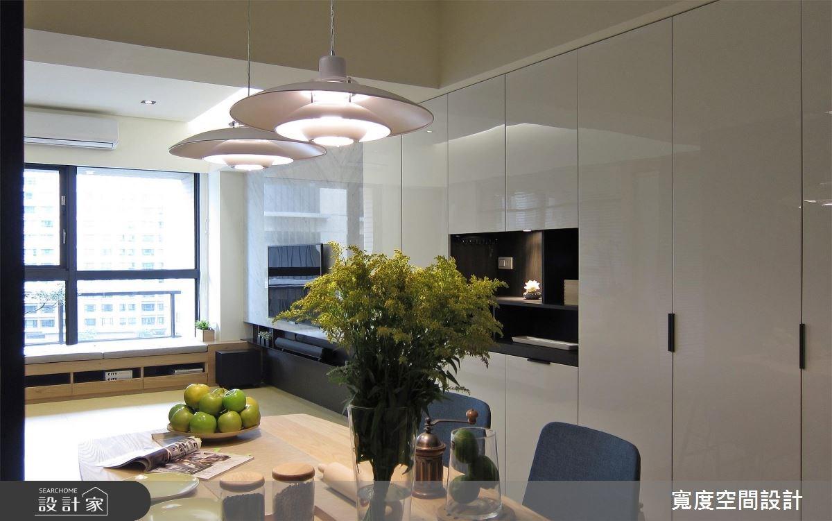 33坪新成屋(5年以下)_現代風客廳餐廳案例圖片_寬度空間設計_寬度_10之4