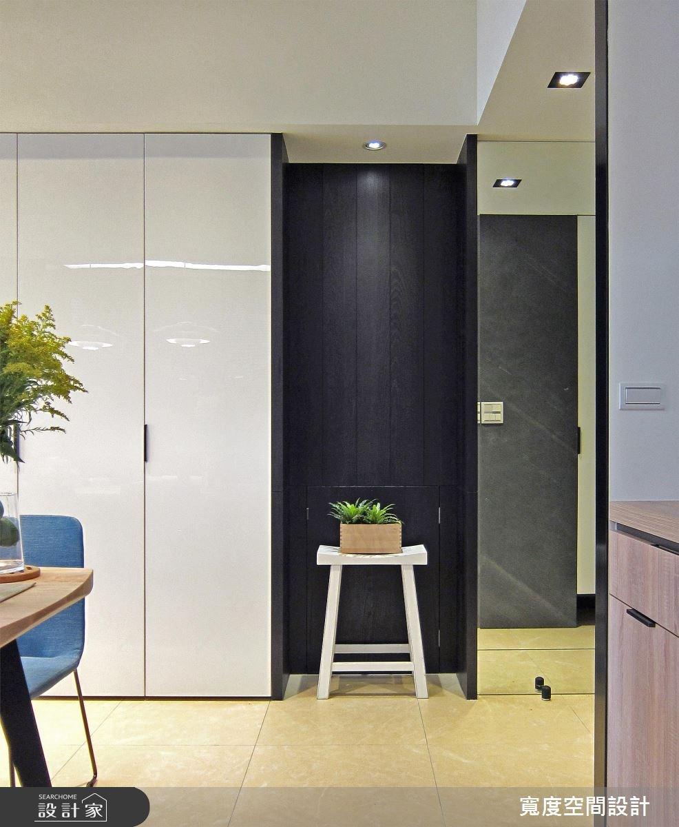 33坪新成屋(5年以下)_現代風走廊案例圖片_寬度空間設計_寬度_10之6