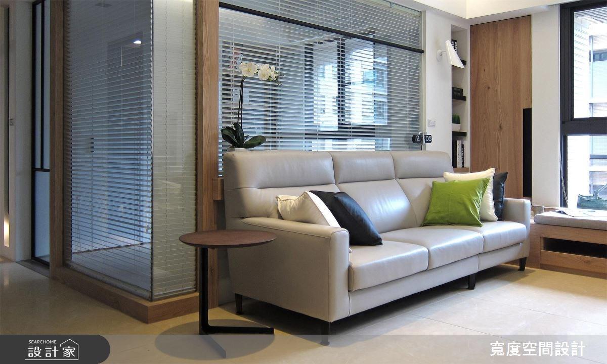 33坪新成屋(5年以下)_現代風客廳案例圖片_寬度空間設計_寬度_10之10