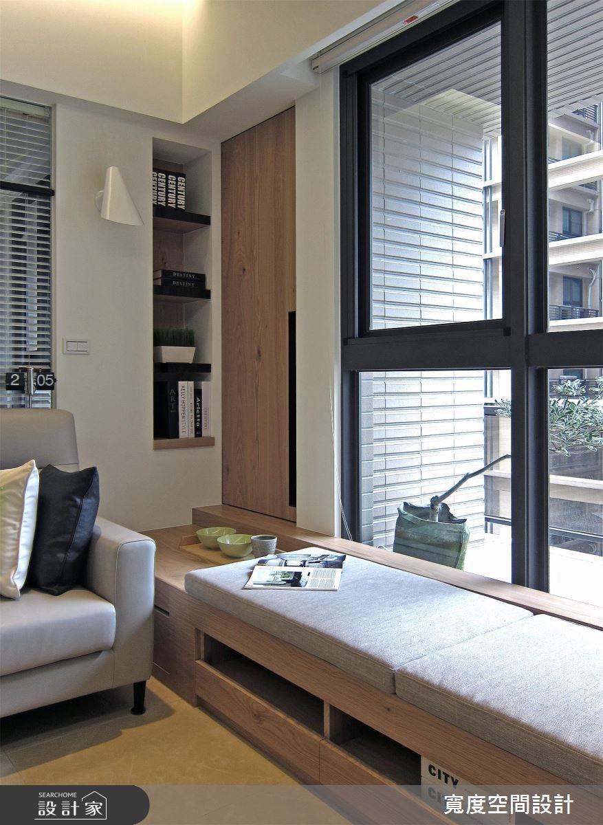33坪新成屋(5年以下)_現代風客廳案例圖片_寬度空間設計_寬度_10之11